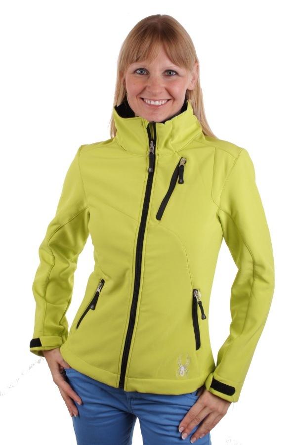 spyder women 39 s softshell jacket mont blanc limone size 38. Black Bedroom Furniture Sets. Home Design Ideas