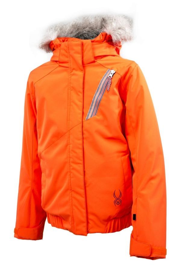 spyder m dchen girls lola jacket skijacke rot gr 140 10. Black Bedroom Furniture Sets. Home Design Ideas