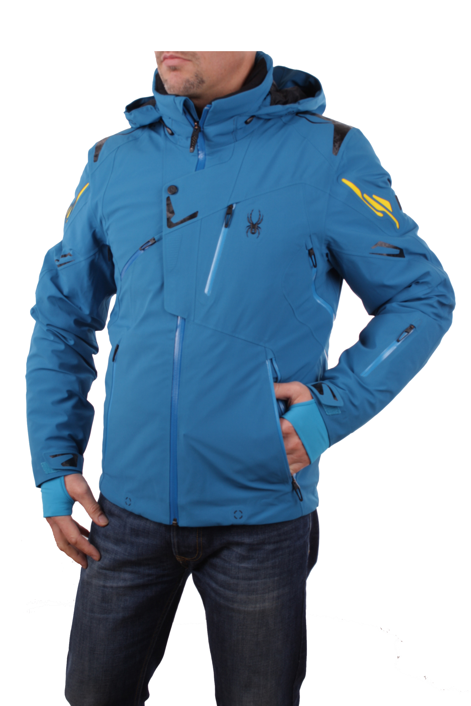 spyder herren 153024 479 skijacke monterosa jacket concept blau recco. Black Bedroom Furniture Sets. Home Design Ideas