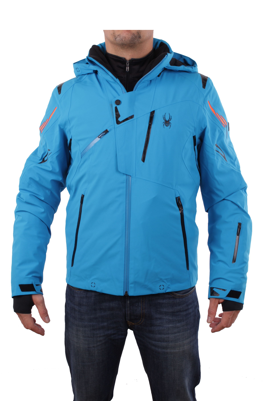 spyder herren 153024 480 skijacke monterosa jacket blau. Black Bedroom Furniture Sets. Home Design Ideas