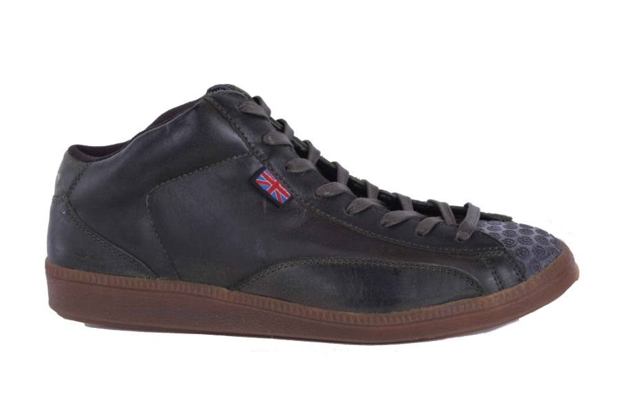 belstaff herren sneaker schuhe echtleder gr n used gr 41 22 ebay. Black Bedroom Furniture Sets. Home Design Ideas