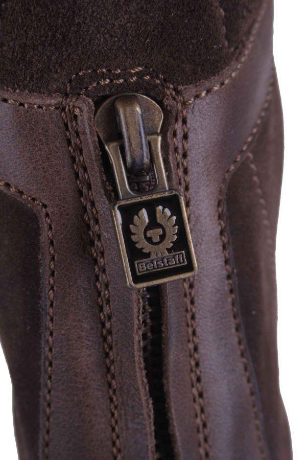 belstaff damen schuhe stiefel boots echtleder braun gr 37 26 ebay. Black Bedroom Furniture Sets. Home Design Ideas