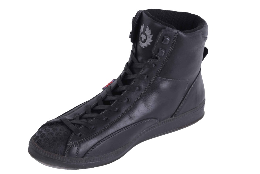 belstaff herren sneaker schuhe boots stiefel echtleder schwarz gr 41 5 ebay. Black Bedroom Furniture Sets. Home Design Ideas