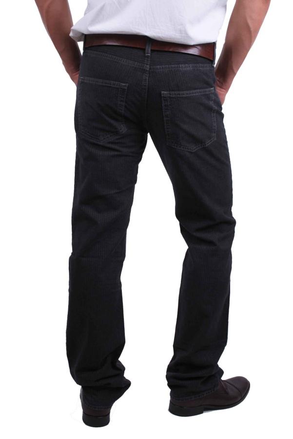 hugo boss herren jeans hose schwarz nadelstreifen scout gr w30 l32 ebay. Black Bedroom Furniture Sets. Home Design Ideas