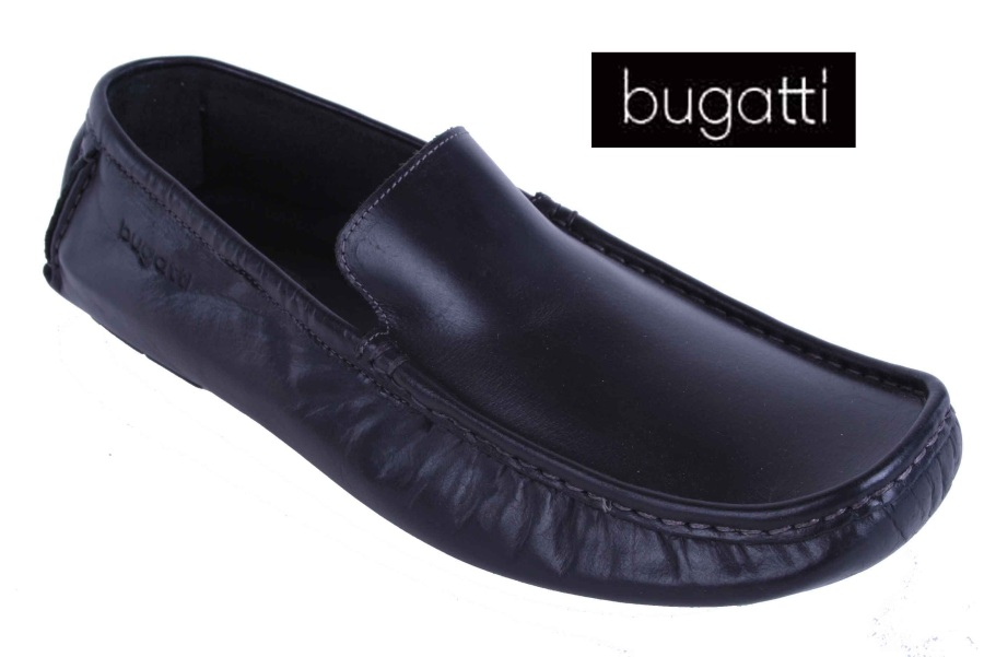 bugatti herren slipper schuhe vollleder braun gr 45 2 ebay. Black Bedroom Furniture Sets. Home Design Ideas