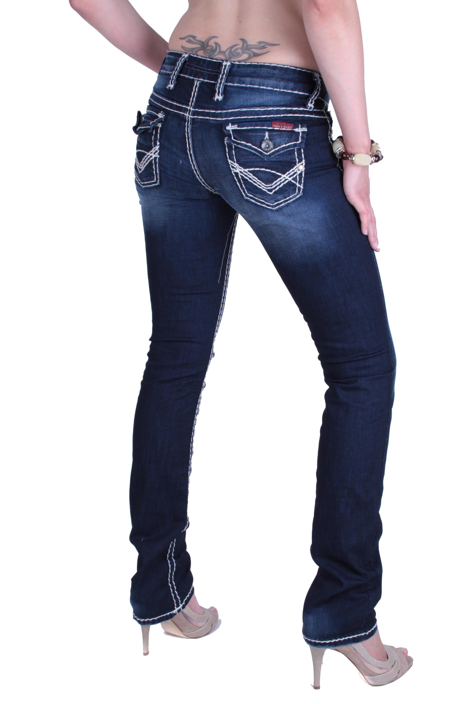 cipo baxx damen designer jeans hose cbw 0231. Black Bedroom Furniture Sets. Home Design Ideas