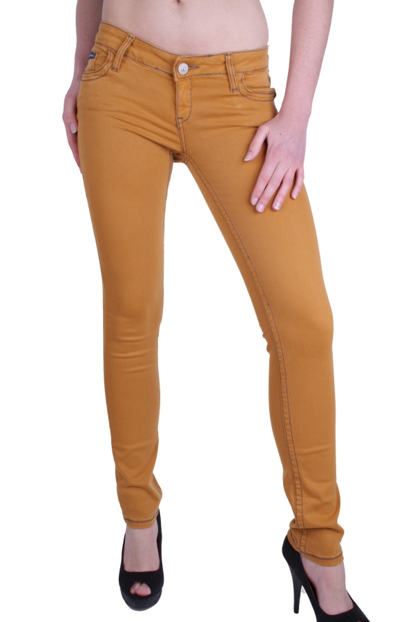 Fantastic Home Womens Jeans Terri Jeans In Mustard Yellow