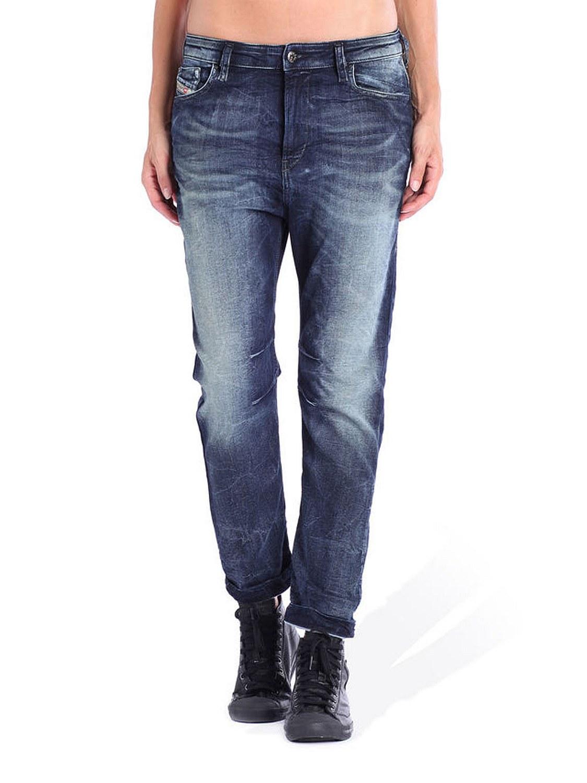 diesel eazee ne 0601l sweat jeans damen jeans hose boyfriend ebay. Black Bedroom Furniture Sets. Home Design Ideas
