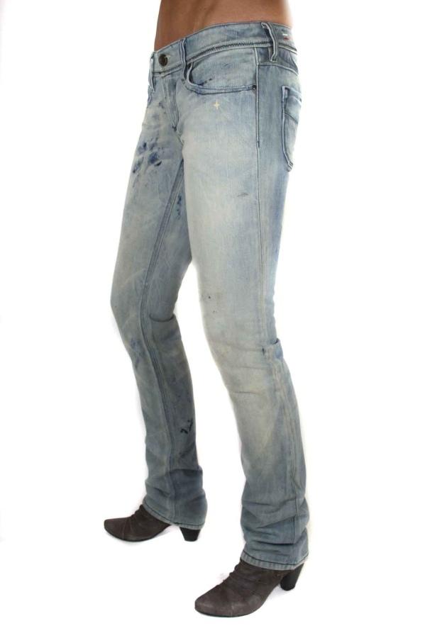 diesel femmes jeans pantalon lowky 0072 taille 24 28 6 ebay. Black Bedroom Furniture Sets. Home Design Ideas