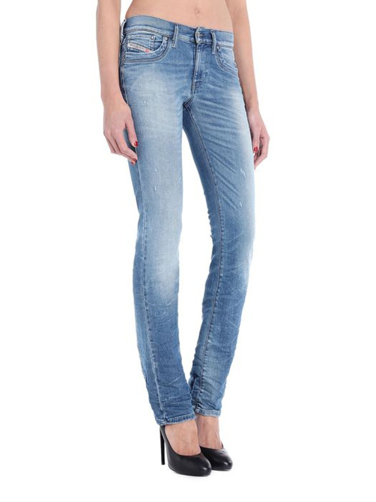 diesel ronhoir 0839y stretch damen jeans hose bootcut ebay. Black Bedroom Furniture Sets. Home Design Ideas