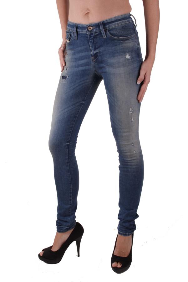 diesel damen jeans hose skinny skinzee 0829y 4 ebay. Black Bedroom Furniture Sets. Home Design Ideas