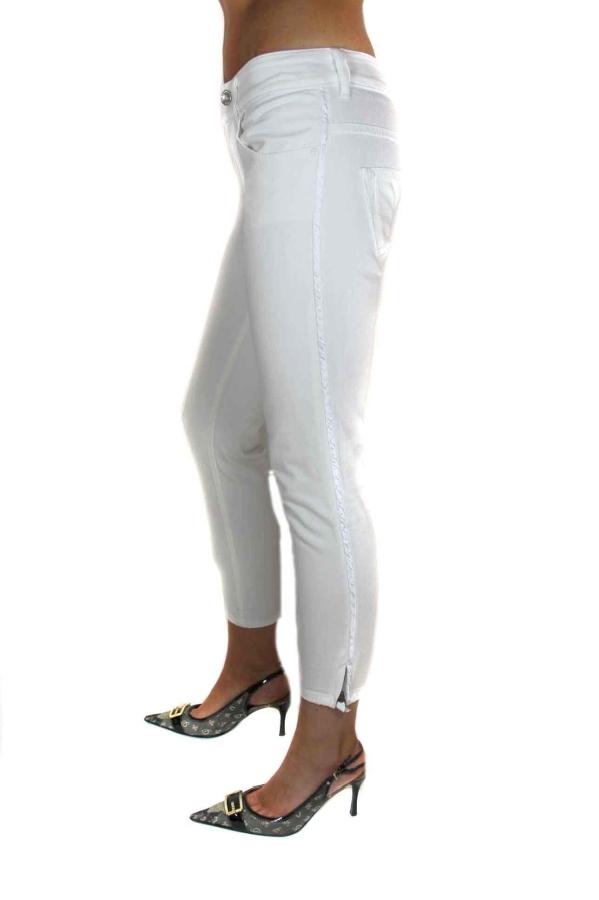 diesel damen jeans brucke 7 8 hose stretch wei gr 28 32