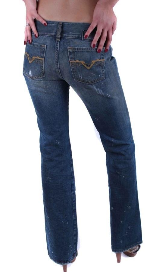 diesel damen jeans hush used destroyed 00732 w25 l30 17. Black Bedroom Furniture Sets. Home Design Ideas