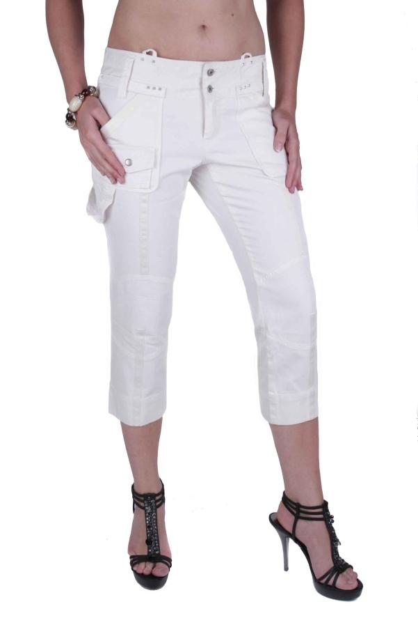 diesel damen jeans hose caprihose moderne creme w29. Black Bedroom Furniture Sets. Home Design Ideas
