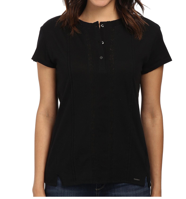 diesel t volta camicia damen shirt bluse schwarz ebay. Black Bedroom Furniture Sets. Home Design Ideas