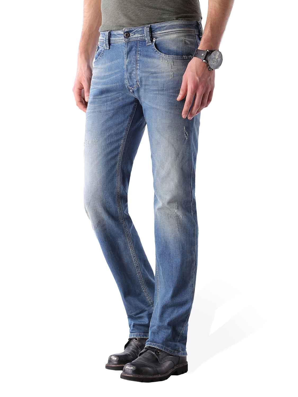 diesel homme larkee 0850u pantalon jeans coupe droite. Black Bedroom Furniture Sets. Home Design Ideas