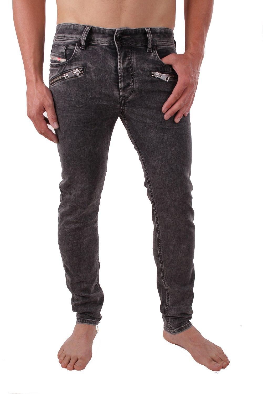 c1ead5bb DIESEL SLEENKER Zip 0842j_Stretch Men's Jeans Pants Slim Skinny | eBay