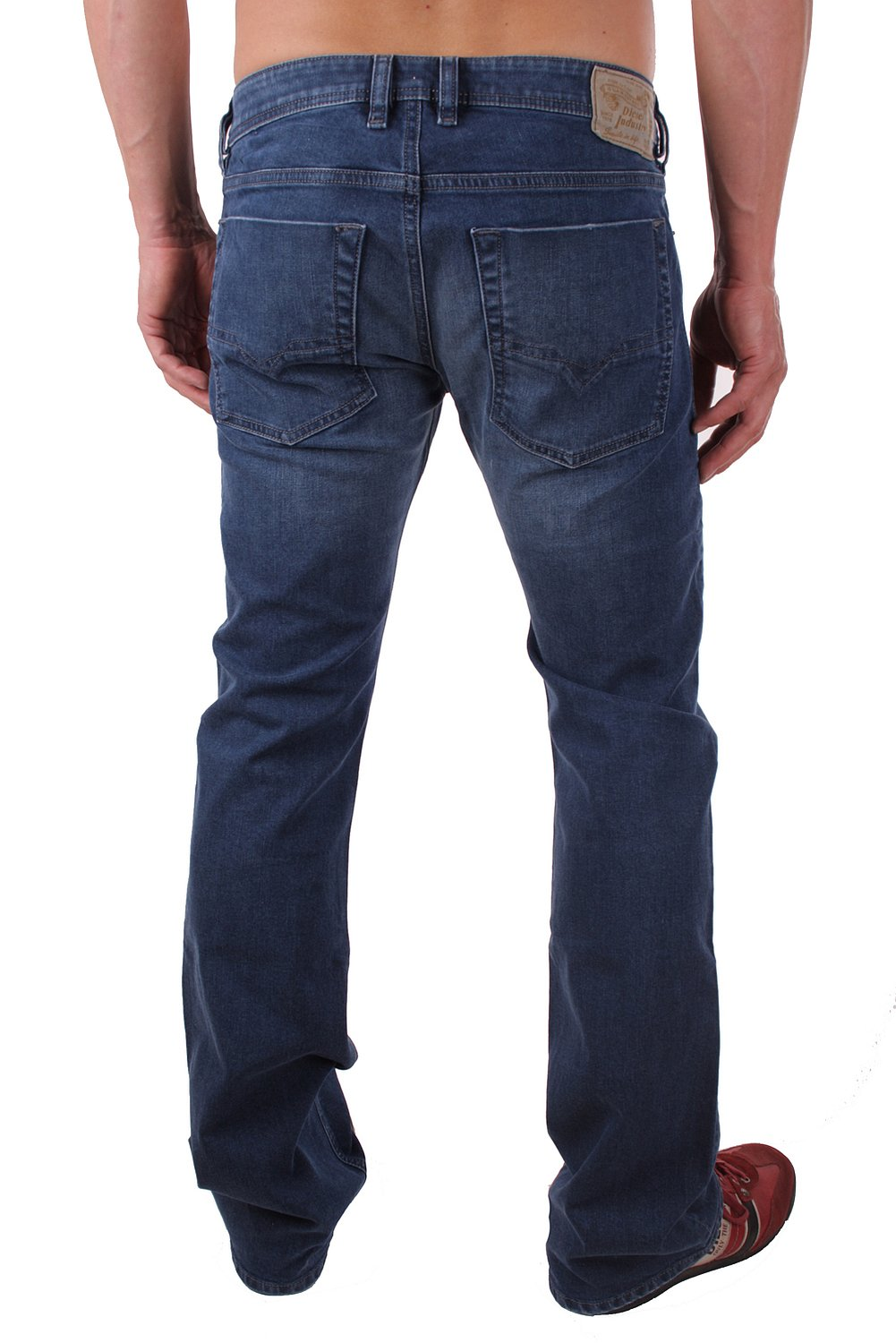 diesel zatiny 0rn18 stretch herren jeans hose regular bootcut ebay. Black Bedroom Furniture Sets. Home Design Ideas
