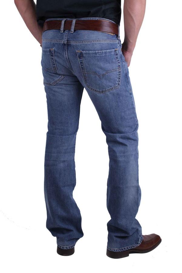 7502406c4258 ... Diesel Zatiny 0800Z Herren Jeans Hose Regular Bootcut 3 ...
