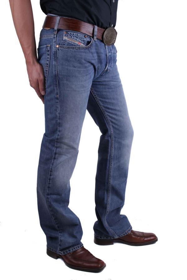 57b422ad1b1f ... Diesel Zatiny 0800Z Herren Jeans Hose Regular Bootcut 4 ...