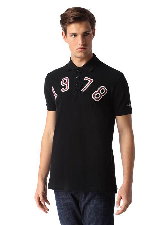 diesel t daniel ab chemise haut pour homme polo shirt manches courtes ebay. Black Bedroom Furniture Sets. Home Design Ideas
