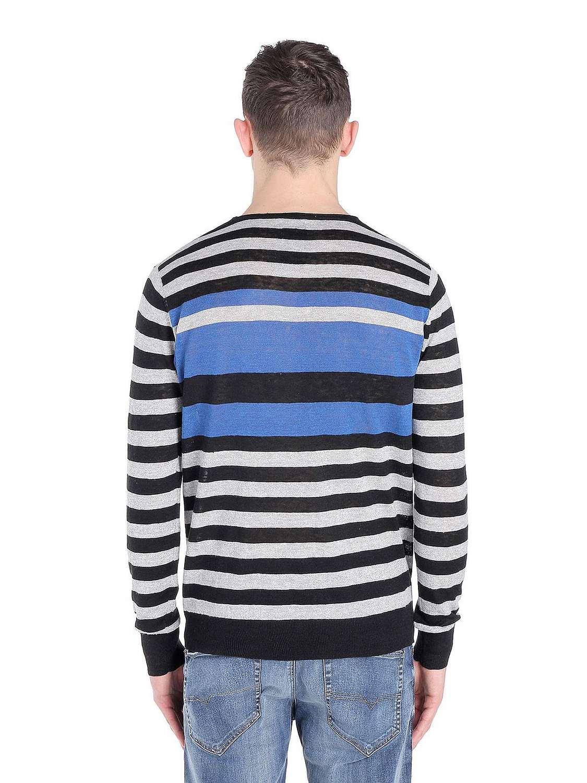 diesel herren k endre pullover langarm shirt leinen ebay. Black Bedroom Furniture Sets. Home Design Ideas