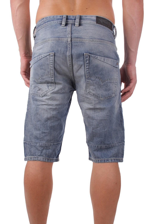 diesel kroshort 0palu herren jeans bermuda shorts ebay. Black Bedroom Furniture Sets. Home Design Ideas