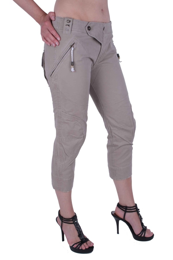 diesel damen capri hose 7 8 jeans nanato beige w30 9 ebay. Black Bedroom Furniture Sets. Home Design Ideas