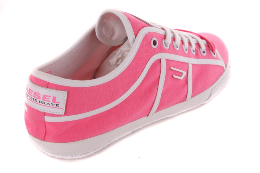 diesel damen sneaker schn rschuhe schuhe pink 101 ebay. Black Bedroom Furniture Sets. Home Design Ideas