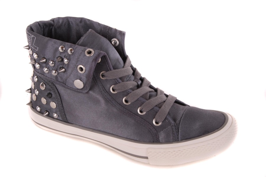 diesel damen sneaker high boots schuhe grau 12. Black Bedroom Furniture Sets. Home Design Ideas