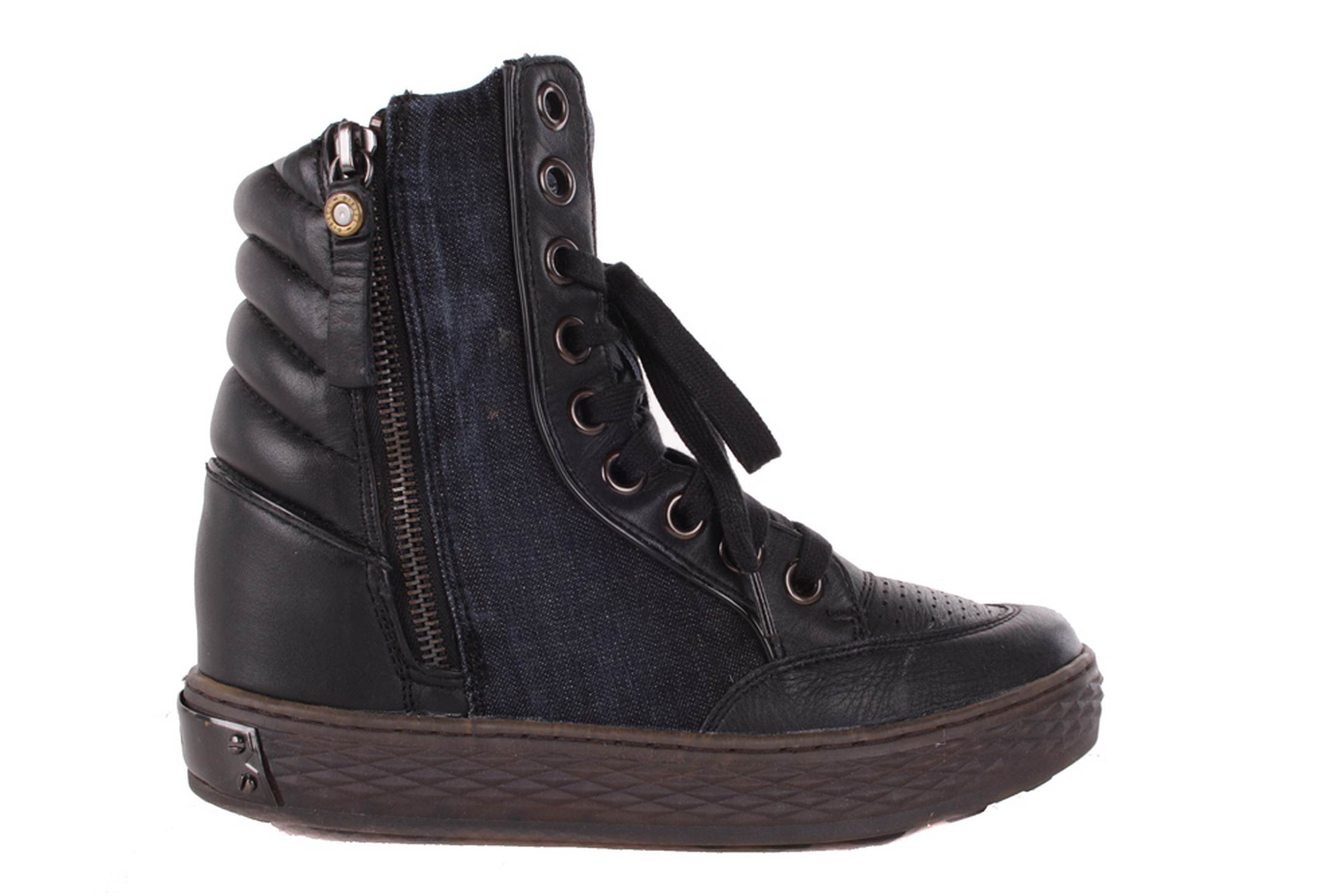 diesel damen sneaker schuhe jeans belair blau schwarz 151 ebay. Black Bedroom Furniture Sets. Home Design Ideas