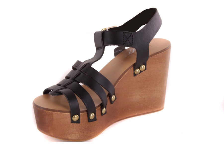 Creative Women Shoes Diesel Sandals Diesel Ecru Leather Sandals Colour Details