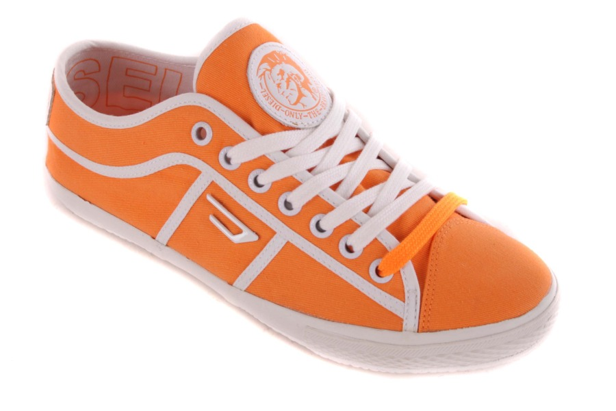 diesel damen sneaker schn rschuhe schuhe orange 53 ebay. Black Bedroom Furniture Sets. Home Design Ideas