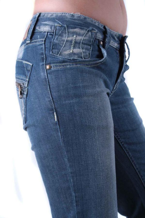 fornarina damen jeans nek stretch denim blau gr w25 l34 w27 l34 3 ebay. Black Bedroom Furniture Sets. Home Design Ideas