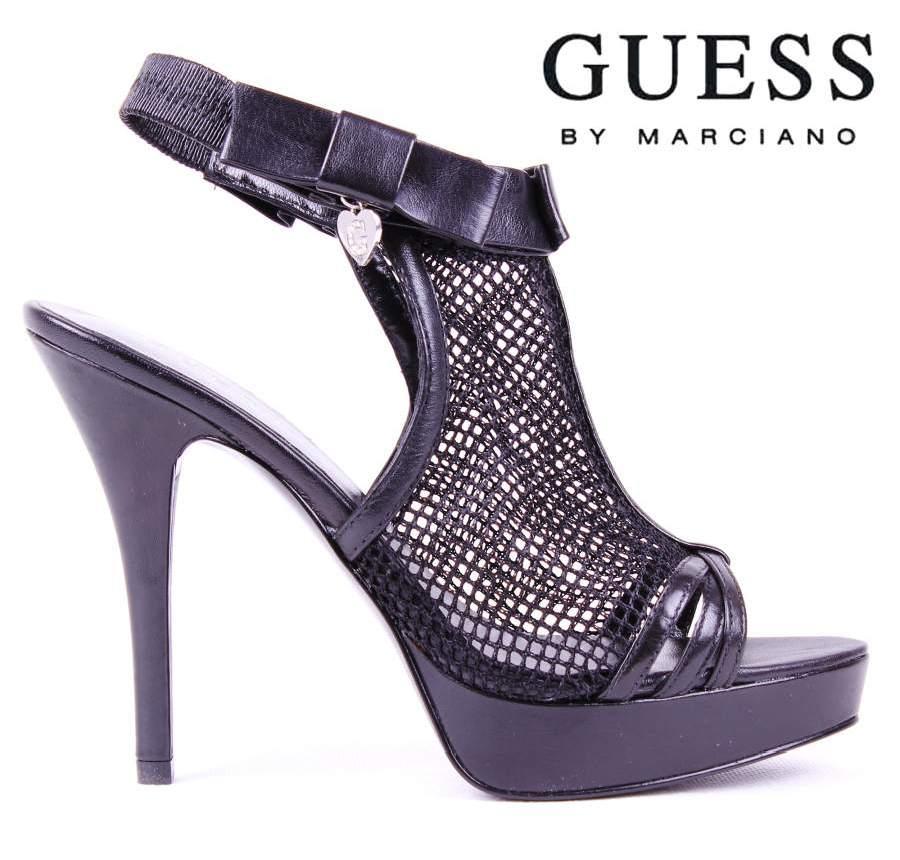 sandals high heels guess black court shoes size 2 5 453 ebay