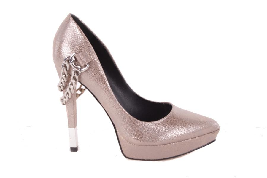 1b050596 Supongo que las bombas de zapatos de tacón altos bronce Stilettos 525 # 1  ...