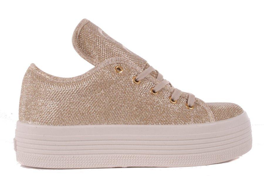 9204c451f1eaf2 ... 1 Guess Damen Sneaker Schnürschuhe Plateau Gold  701 2 ...