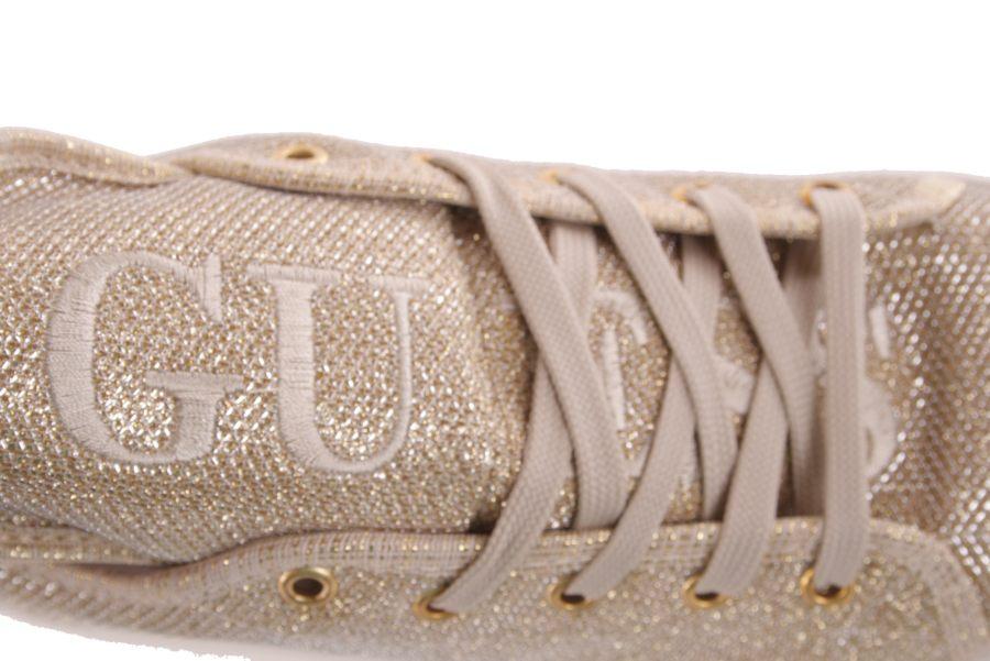 fd6785a49bedae ... Guess Damen Sneaker Schnürschuhe Plateau Gold  701 5 ...