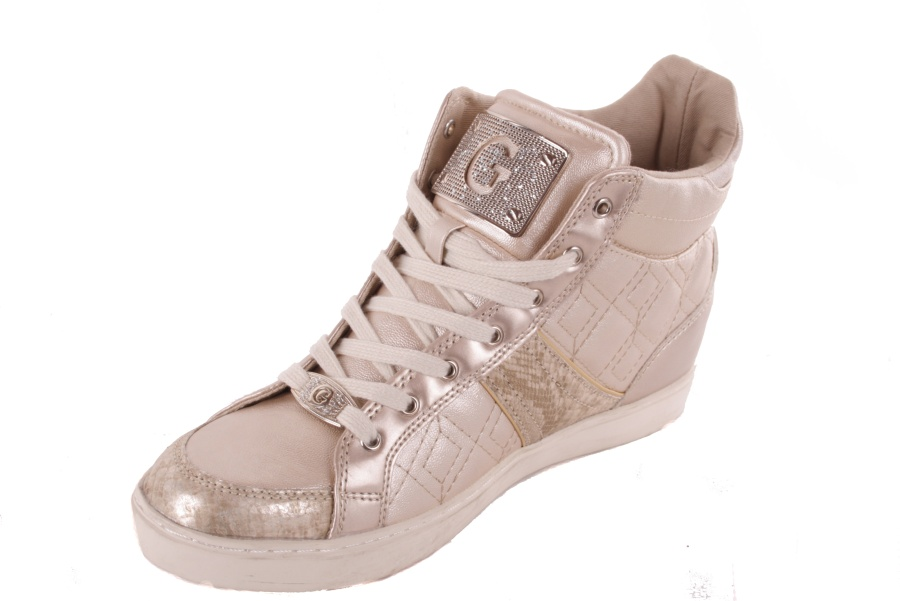 guess damen sneaker schn rschuhe gold 703 ebay. Black Bedroom Furniture Sets. Home Design Ideas
