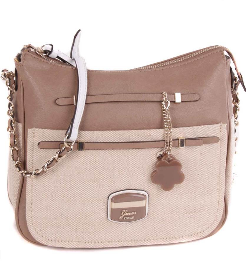 guess belt bag shoulder bag beige gu136a ebay. Black Bedroom Furniture Sets. Home Design Ideas