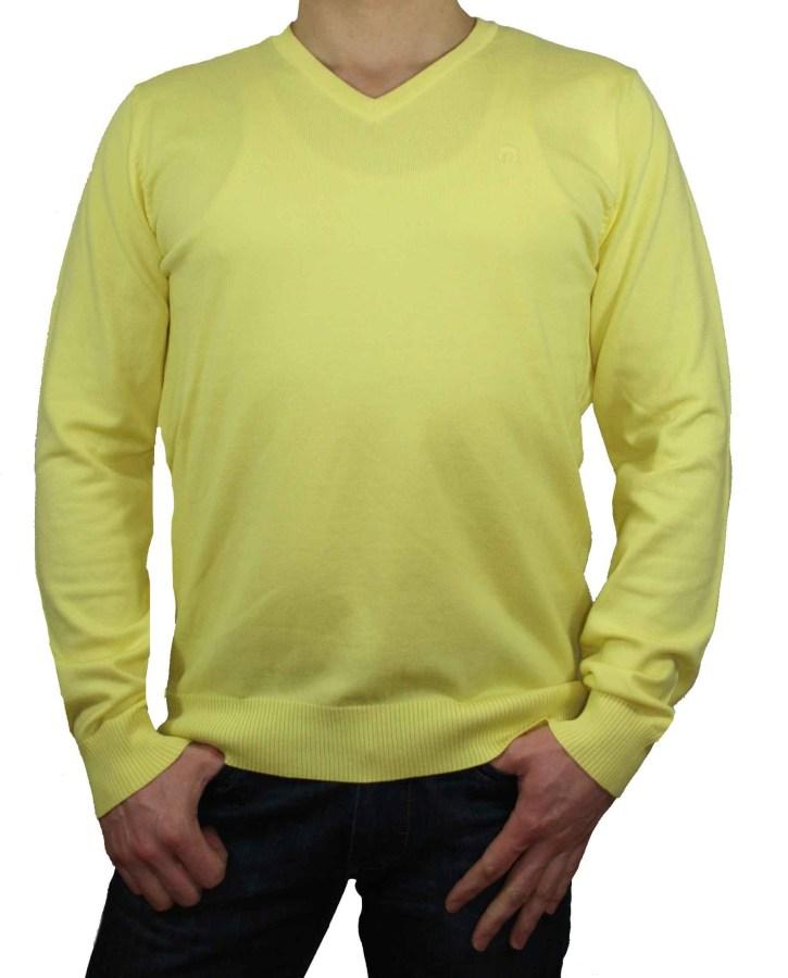 jack jones herren pullover v neck premium gelb gr l ebay. Black Bedroom Furniture Sets. Home Design Ideas