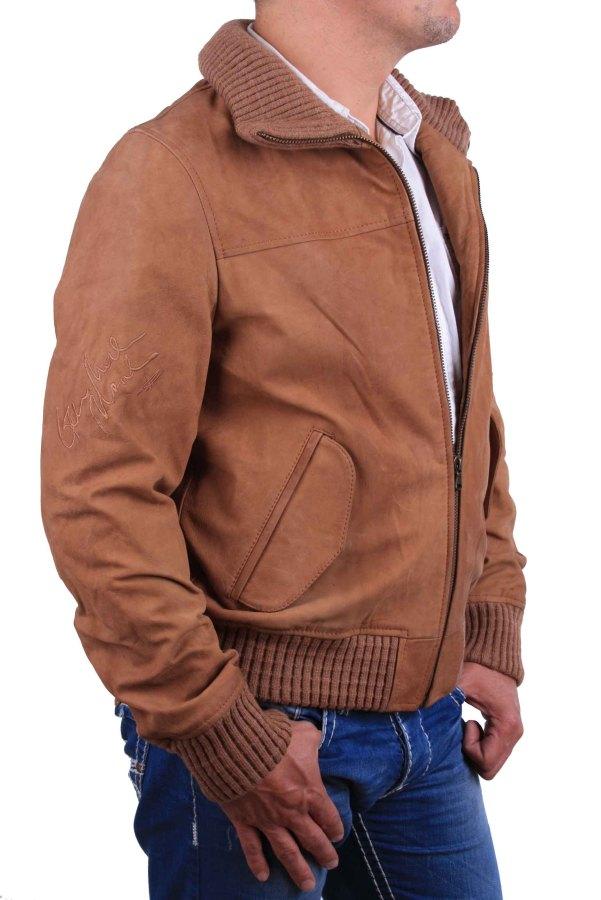 la martina men 39 s jacket leather jacket camel size m 2 ebay. Black Bedroom Furniture Sets. Home Design Ideas