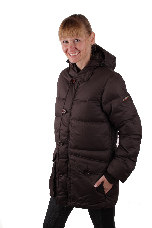 huge discount 262d1 b6f82 Napapijri Damen Winterjacke Daunen Jacke Parka Braun #RIF050 ...