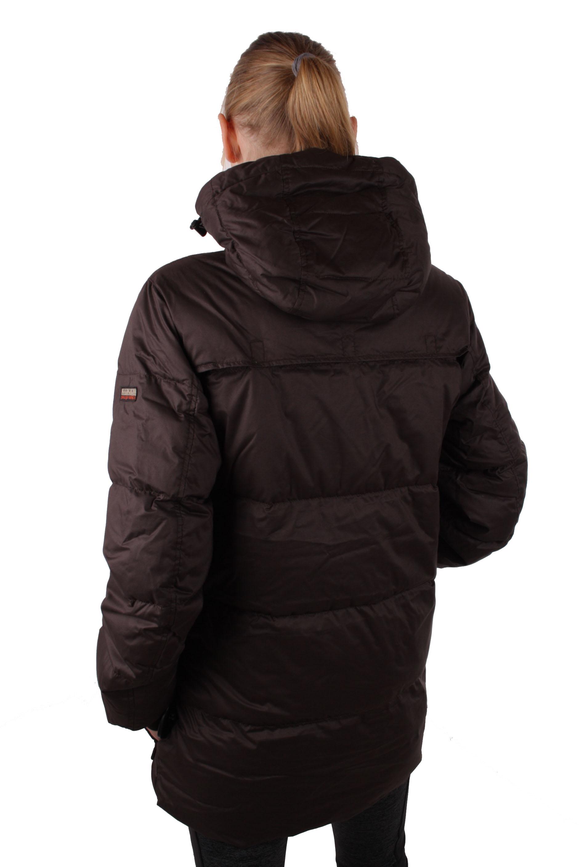 napapijri women 39 s winter jacket down jacket parka brown. Black Bedroom Furniture Sets. Home Design Ideas
