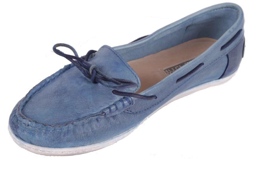 napapijri damen schuhe slipper mokassins illy blau gr 40. Black Bedroom Furniture Sets. Home Design Ideas