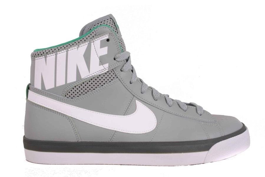 74bd21d4cd93 Nike Men s Sneakers Match Supreme Hi Txt Grey 631682-014 Size 42
