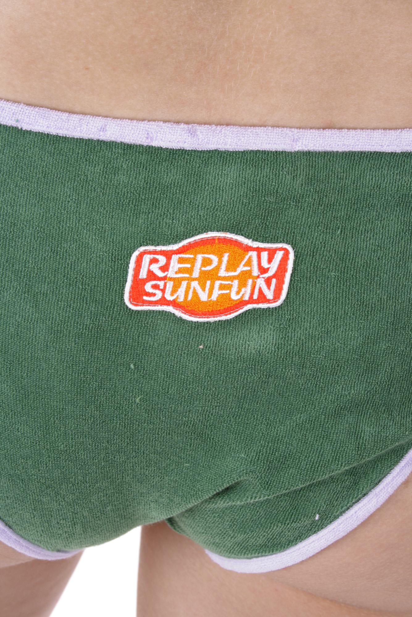 replay bikini badeanzug triangel bh slip gr 36 38 cup a b 60 ebay. Black Bedroom Furniture Sets. Home Design Ideas