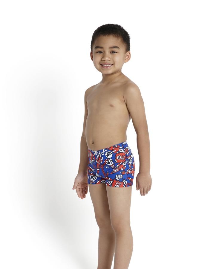 Speedo Boy Swimsuits Of Swim Shorts Essential Allover Aqua Shorts 1