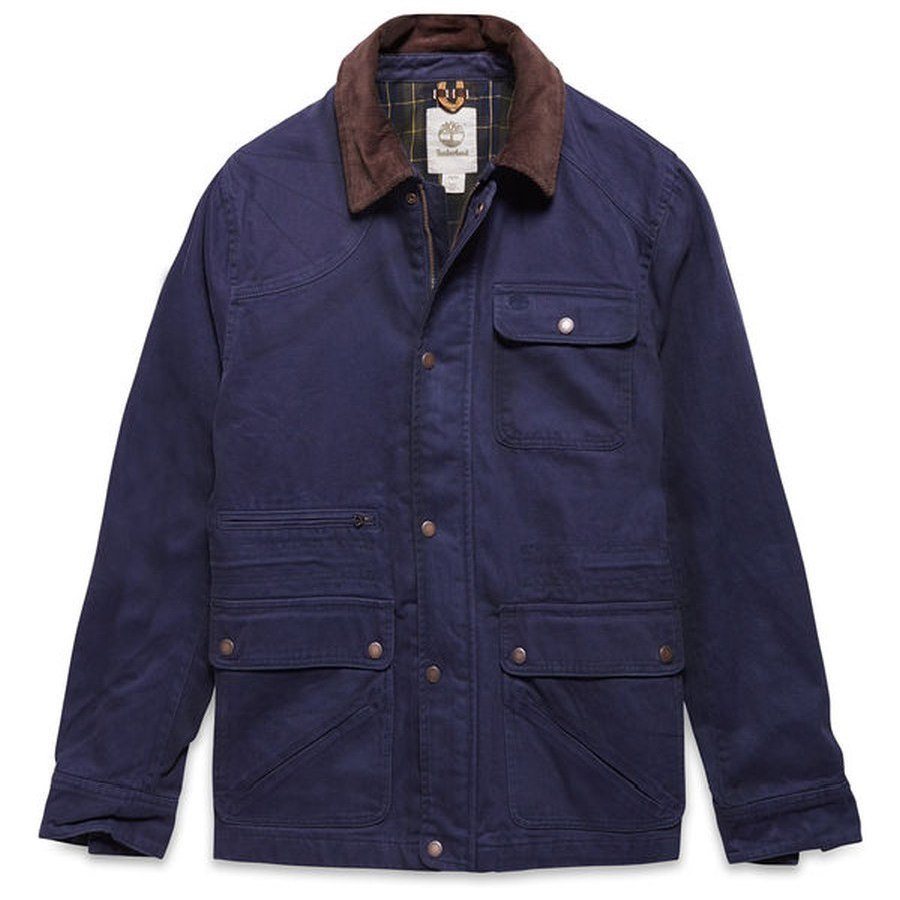 Timberland Men's Jacket BAKER MOUNTAIN FIELD Dark blue ...