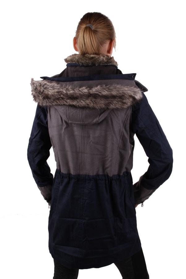 timberland damen jacke parka shaker mountain dunkelblau gr s tl528 ebay. Black Bedroom Furniture Sets. Home Design Ideas